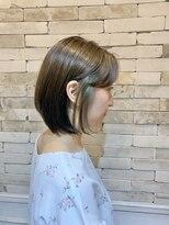 ヘアドレス レイ(Hair dress Lei)BOB × inner color