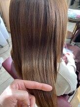ソレイユ 新宿御苑前 (SOLEIL)髪質改善 オレンジブラウン 究極トリートメント