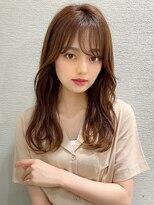 ゆるふわパーマはレイヤーカットとシアーカラーが可愛い☆錦糸町