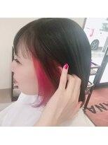 inner color×vivid pink
