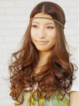 ヘアーサロン ニコ(HAIR SALON nico)の写真/【CUT+フルカラー+トリートメント¥9000】低刺激で髪や頭皮に優しいカラー♪ダメージレスで理想の色味に◎