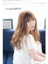 ヘアデザイン ロッコ(hair design ROCCO)summerカラー*セピアグレージュ