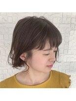 テラスヘア(TERRACE hair)ティアアッシュミニボブ
