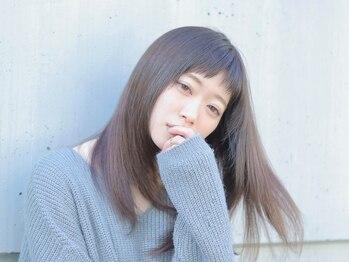 ソラ 広尾店(SORA)の写真/デザインの幅が広がる柔らかい地毛風のストレート♪触り心地なめらかな、潤いに満ちた髪を手に入れて。