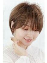 リル ヘアーデザイン(Rire hair design)【Rire-リル銀座-】王道ふんわりショートボブ