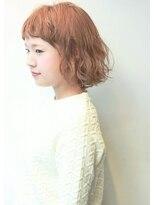 エッジィボブ【Lucia hair pluie心斎橋南船場店】
