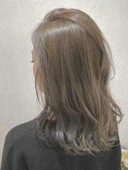 シエル(hair terrace Ciel)の写真/【ar掲載サロン】[Cut+イルミナカラー¥7900]大きなサロンが苦手…という方におすすめのリラックス空間♪