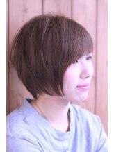 ヘアー ロギア(hair LOGiA)★hair LOGIA★  〇さらさら軽ショート