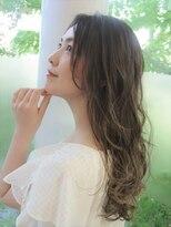 イツミヘアーループ(itsumi)柔らか質感のレイヤーロング