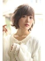 【soy-kufu】抜け感前髪ふんわりエアリーミディスタイル