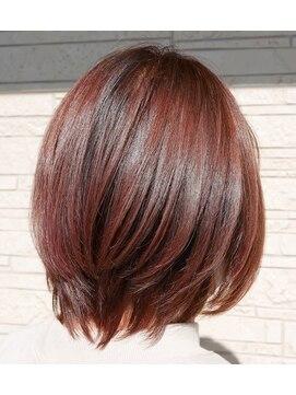 ヘアー クリエイション(Hair Creation)ピンク系カラー