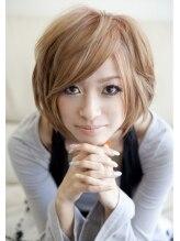 オズ ヘアーアンドトータルビューティー(OZ hair&total beauty)シフォンベージュ・ショートレイヤー hair produce by OZY☆