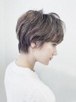 マックスビューティーギンザ(MAXBEAUTY GINZA) ☆外国人風マッシュショート☆髪質改善/イルミナカラー/銀座