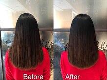 美髪クリニック ギンザ プライム 銀座店(GINZA prime)の雰囲気(美髪チャージとは違い、より柔らかくよりナチュラルに[銀座])