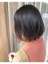 トリート ヘアデザイン 妙典店(TREAT HAIR DESIGN)インナーカラー×オレンジカラー