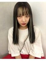 ジーナ オモテサンドウ(XENA)かてぃちゃんニュアンスメッシュ