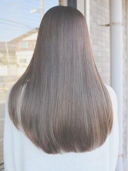 グランウェイ(GRUNWAY)の写真/【毛髪強度回復率140%】髪のダメージを徹底的にケア!美しさ・潤いが溢れるTOKIOトリートメント取扱サロン♪