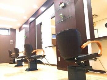 カットスタジオ ヴイナス(Cut Studio Vnas)の写真/【手稲エリア】地域から圧倒的な支持を誇る大人気サロンVnas☆プライベート空間でゆったりサロンタイム♪