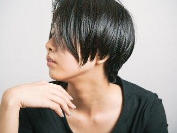 リフヘアー(Riff hair)の写真/色持ち抜群!気になる根元や生え際も自然な仕上がりに!
