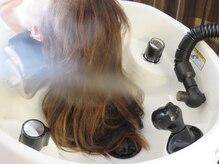 ヘアーオブジェ 末広店(Hair OBJET)の雰囲気(「YUME」で至福のヘッドスパタイム。アロマミストが心地よい…♪)