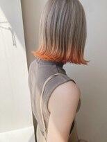 スティル ヘアアンドアイラッシュ(STILL hair&eyelash)【STILLが叶える・・】オレンジ裾カラー