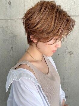 アール ヘアー デザイン(r hair design)の写真/【名駅】いつまでも美髪でいたい!20代・30代の支持率◎髪と頭皮に優しい施術で「なりたい」に寄り添います