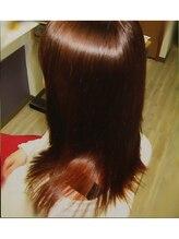 縮毛矯正専門店 ヘアーデザインリンク 八王子(Hair Design Link)重めスタイルも簡単スタイリング!ナチュラル縮毛矯正『八王子』