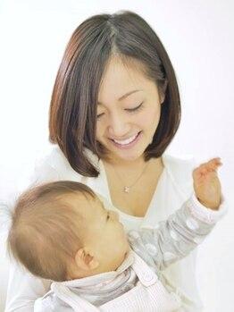 レイコ美容室 スミカワ店の写真/忙しい主婦の方必見!!いつまでもキレイでいたい。子育てや家事、毎日頑張り続けるママさん達に輝きを…。