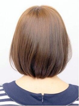 ストロボヘアー(Stro Bo hair)の写真/《大人髪思いやりカラー♪》話題のノンジアミンカラー取り扱いあり◎オーガニックが優しく染め上げます☆