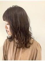 テラスヘア(TERRACE hair)ショコラグレージュ ミディ