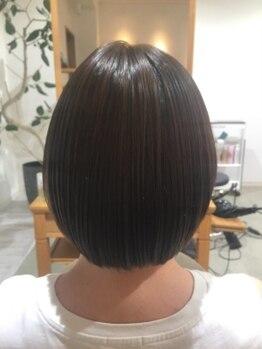 ツクル(TSUKURU)の写真/【Aujua取扱店】大人女性の髪の悩みに合わせた《オーダーメイド型トリートメント》理想の美髪を実現◆