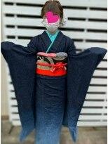 ハナココ 水戸店(hana Coco)成人式 崩れないゆるふわアップ 卒業式 前撮り 撮影 着付け 水戸