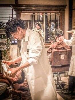 ブリランチン イワタ(Brilliantine Iwata)の写真/「デキる男」は第一印象で決まる!日常的に男を磨くための顔剃りから疲れを癒すマッサージまでメニュー充実!