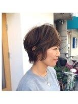 ハブコヘアスパ(HaBCo hair spa)マニッシュショートボブ☆