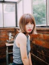 フォルムヘアデザイン(FORME hair design)色っぽゆるカールボブ【FORME Hair design】