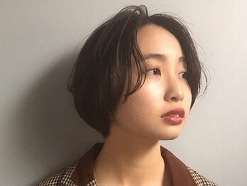 スタンド(STAND)の写真/オリジナルのウェットカットで大胆なヘアチェンジも似合わせます。どこか女性らしさがあるスタイルに。