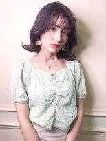 アクシス 栄ガスビル店(`AXIS)【axis】naya's style 韓国k-popアイドルシースルーバングヘア