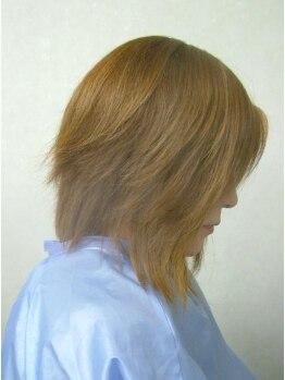 美ZEN 小手指の写真/縮毛矯正後でも髪が傷まない!水の力でダメージの少ない質感&しっかりストレートヘアーが実現!