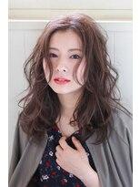 イロドリ ヘアーデザイン(IRODORI hair design)IRODORI センターパート×大人セミロング 【西尾一寛】