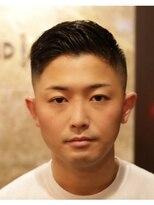 バルビエ グラン 銀座(barbier GRAND)ハードパートミドルフェードスタイル