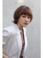 ヘアサロン ガリカ 表参道(hair salon Gallica)【ミヤギリュウキ】小顔に見えるマッシュショート☆ウルフヘア