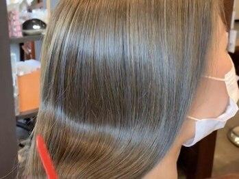 サロン ド メイド(Salon de MADE)の写真/【湿気に強いガードプロ誕生☆ハーブプレミア縮毛矯正+カット¥19600】ボリュームやクセが気になる方へ◎