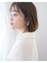 ココ ヘアーアンドライフスタイル(COCO hair&lifestyle)【COCO山口】シースルーボブ