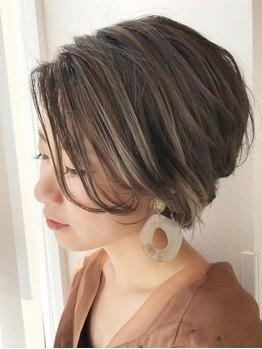 グラン ヘアー(GRAND HAIR)の写真/《星が丘》1人ひとりの雰囲気に合わせたカットが人気の秘訣。高い再現性&デザイン性でFITするスタイルへ!