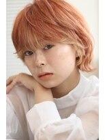 【soy-kufu】前髪ハイライト ミニウルフ