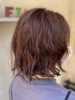ヘアーメイク アフィーノ(hair make affino)ボブパーマ