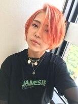 ジーナ(XENA)サニーオレンジ×バングハイライト