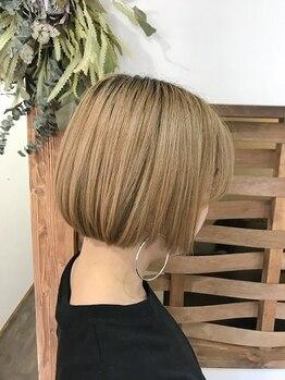 アイリー(Irie)の写真/一人一人の髪の癖と収まる位置を見極め、流れに合わせカットするから自宅でも簡単に再現できるStyleが叶う
