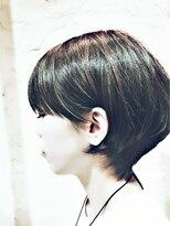 ヘアメイク アプト コンビネーション(HAIR MAKE apt combination)ショートボブ