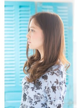 アリシアヘアー(ARISHIA hair)髪質改善 抜け感ヘア ベージュ系カラー 【アリシアヘアー 那珂】